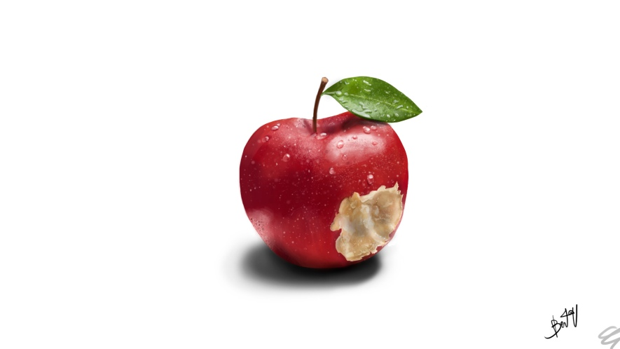 Apple in the real life